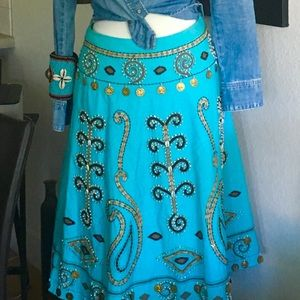 Super cool party skirt! This baby jingles! BOHO